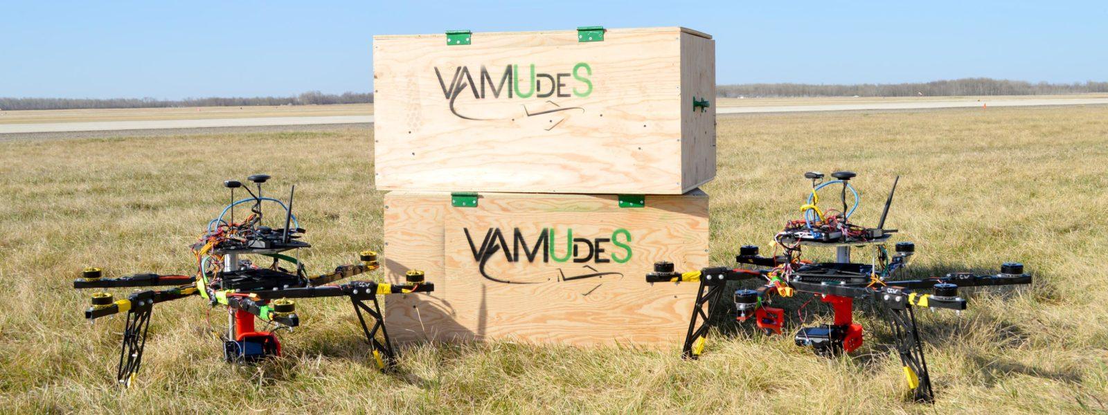 VAMUdeS conçoit son nouvel hexacoptère, Orion